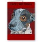 blue heeler puppy card
