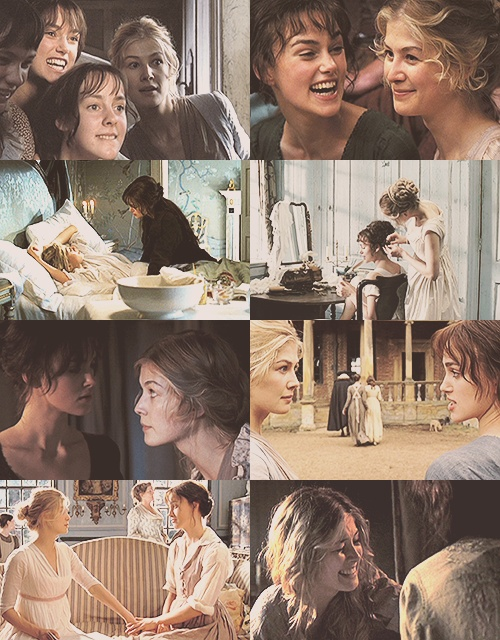 PRIDE & PREJUDICE Favourite friendship - Jane Bennet and Elizabeth Bennet