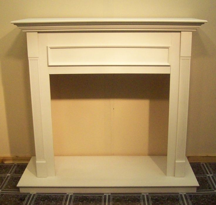 Majestic Cfm Wall Cabinet For Gas Fireplace Insert 36in Primed Whit