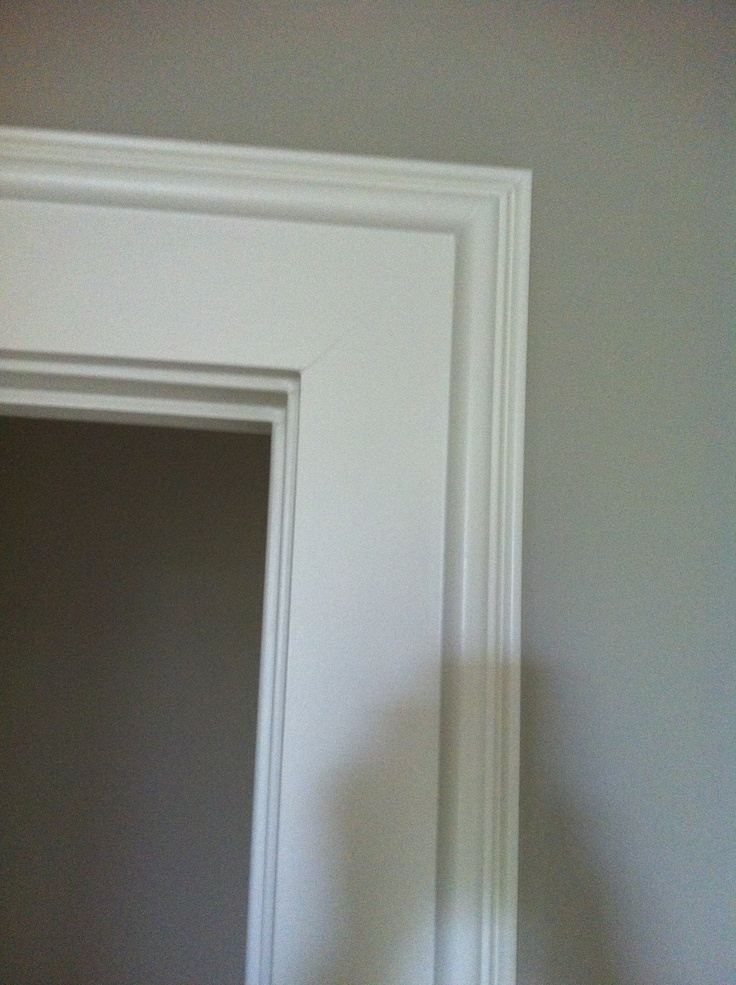 Door trim diy trim baseboard pinterest for Baseboard and door trim