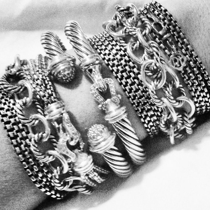 Pin by karen rittenbaum on it 39 s in the details pinterest for David yurman like bracelets