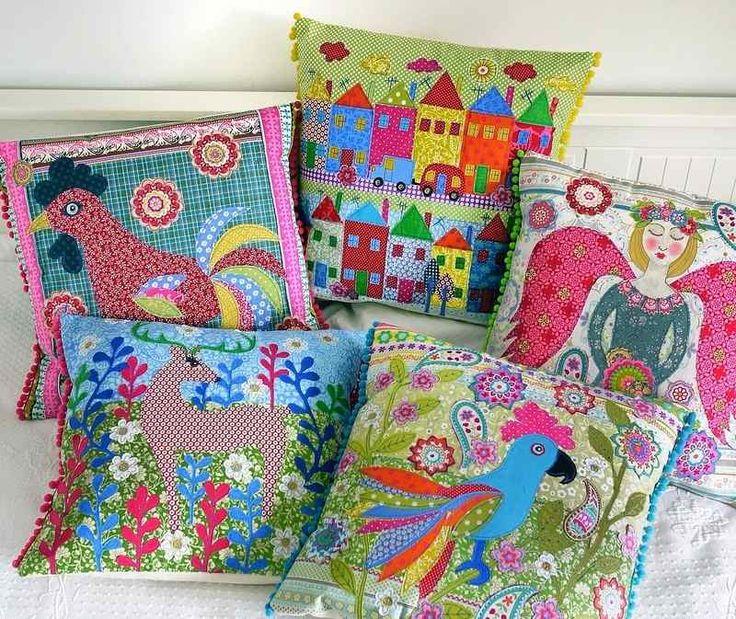5 cushions