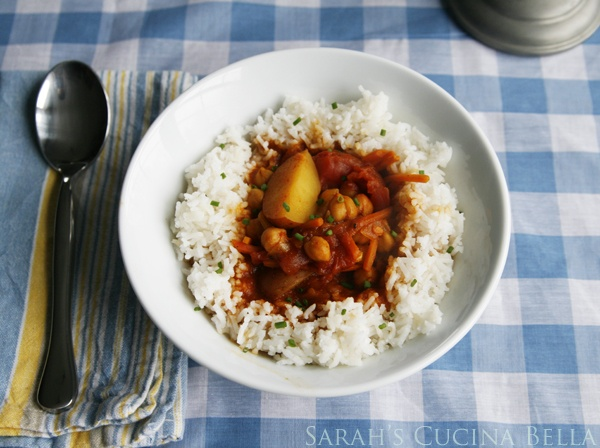 Curried Chickpea and Vegetable Stew | Recipe