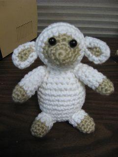 Free Crochet Amigurumi Lamb : Lamb - Free amigurumi crochet pattern crochet animals ...