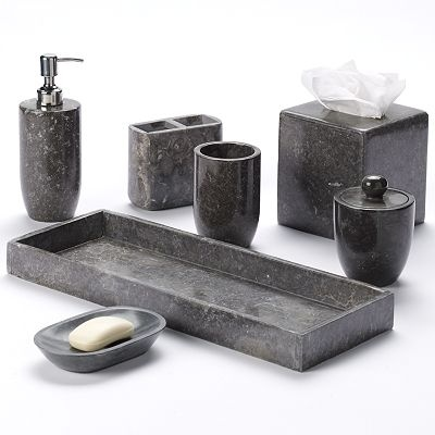 Pinterest for Charcoal bathroom accessories