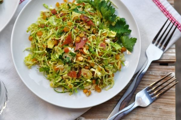 Crunchy Split Pea and Prosciutto Salad. Like spit pea soup, but it ...