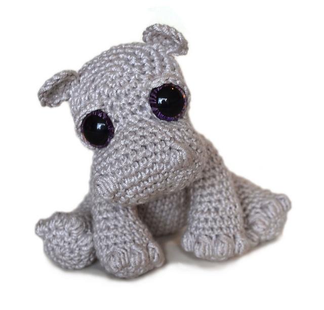 Amigurumi Hippopotamus : Amigurumi Hippo Pattern - Rosie pattern by Kate E. Hancock