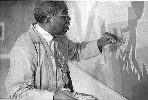 Aaron Douglas / He was an African American painter and a major figure ...