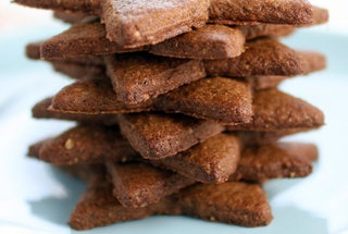 Gluten-Free Gingersnaps and Star Cookies — Recipe from Gluten Free ...