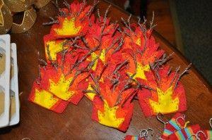 moses  amp  the burning bushMoses Burning Bush Craft