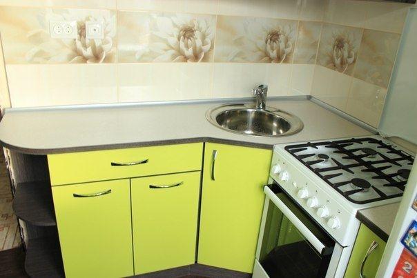 Дизайн маленькой кухни 5 кв