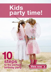 10 steps to a perfect kids party