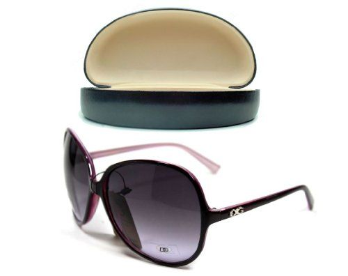 women's ladie's DG Eyewear sunglasses Purple Black case DG Eyewear http://www.amazon.com/dp/B00E924NGC/ref=cm_sw_r_pi_dp_kZuZtb0HXDRBT6DX