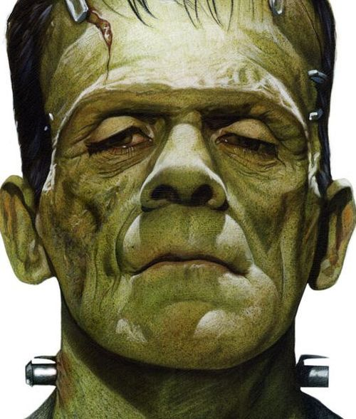 Frankenstein, monster | creature feature | Pinterest