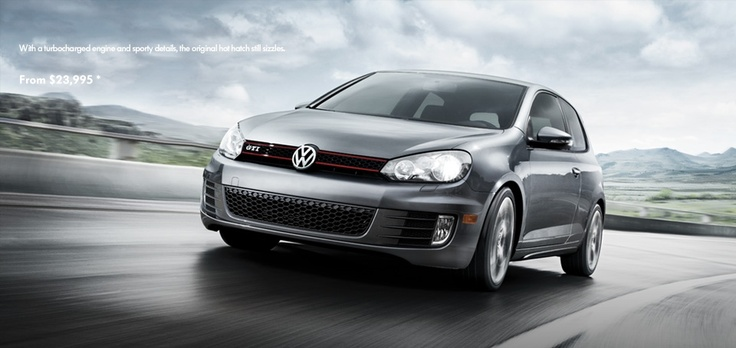 2013 Fuel Efficient Volkswagen GTI