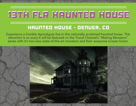 Pinterest for 13th floor haunted house colorado