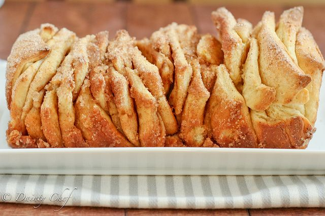 Cinnamon Sugar Pull-Apart Bread this blog says you can get away with ...