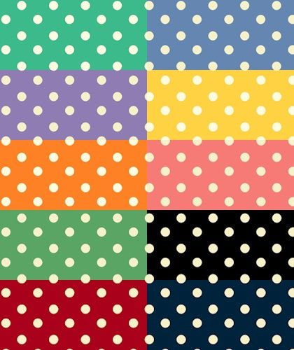 Aunt Grace Dots - New for 2014!