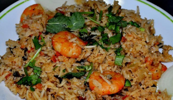 Shrimp biryani | Mmmmmm | Pinterest