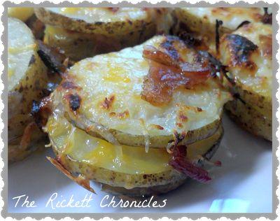 The Rickett Chronicles: Recipe: Stacked Baked Potato