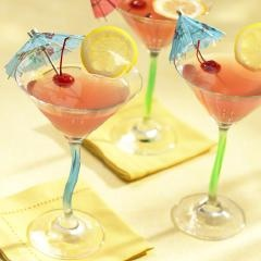 Lemon Cranberry Martini | I'll Drink to That! | Pinterest