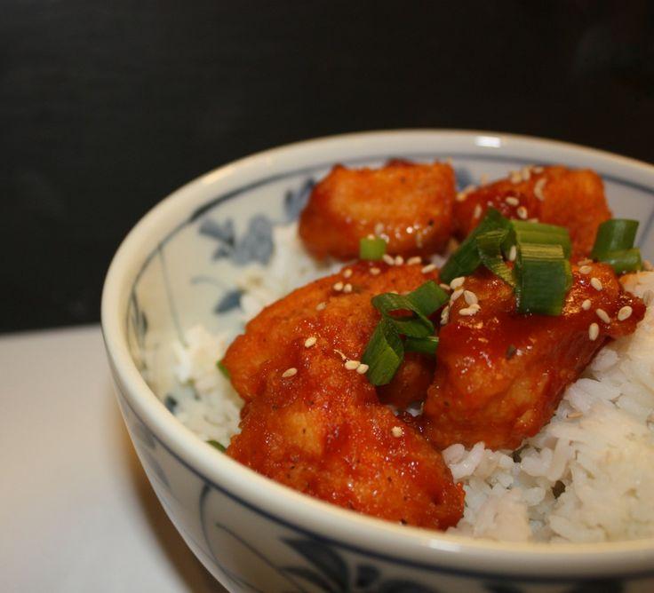 Sesame Orange Chicken | Recipe