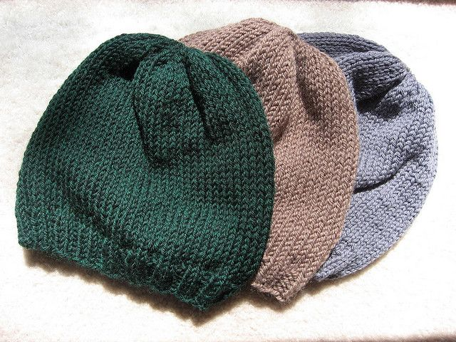 Bevs Basic Troop Cap Knitted Chemo Hats Pinterest