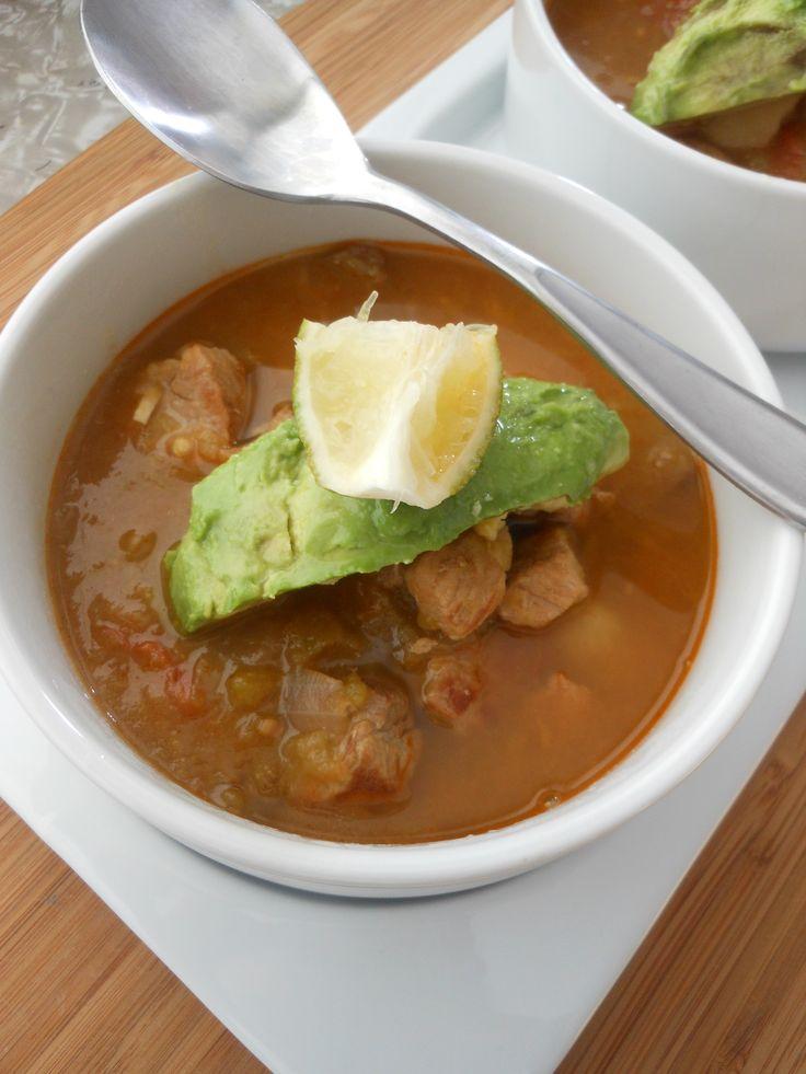 New Mexico Green Chili Pork Stew | Soups-Chili-Stews | Pinterest