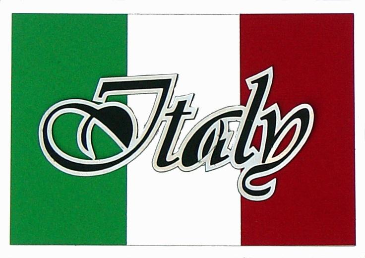 flag in italian