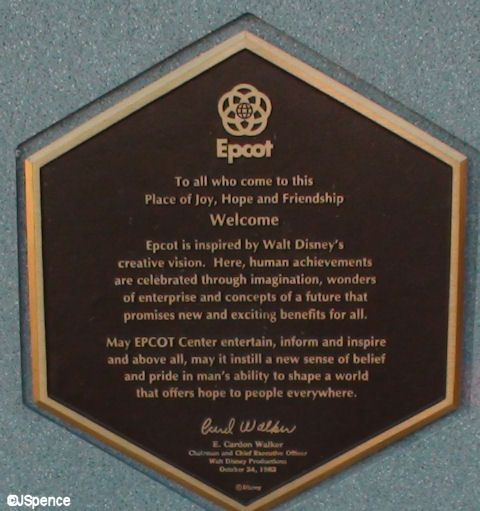 Dedication Plaques. One of my favorite things in the parks.