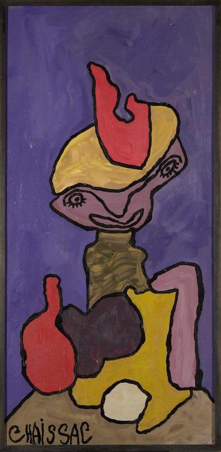 Gaston chaissac outsider art pinterest for Chaissac gaston