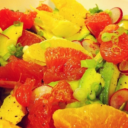 Avocado citrus salad | yummy in my tummy | Pinterest