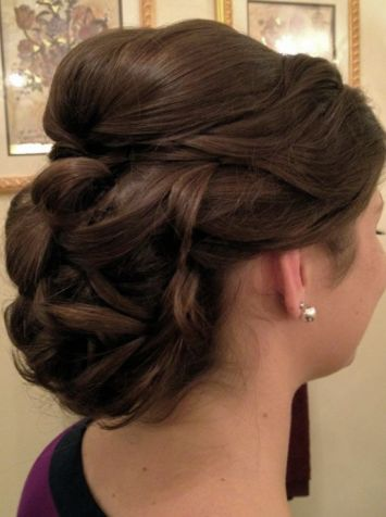 Hairstyles Gifts : Pin by Engraved Gifts on Beautiful Wedding Hairstyle Pinterest