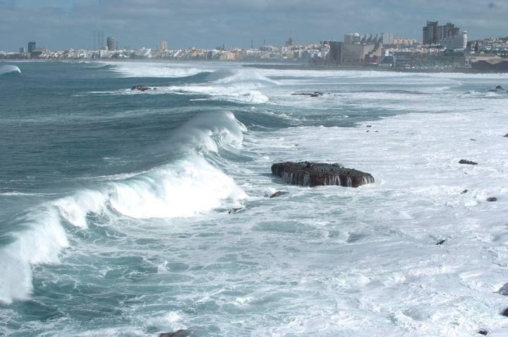 estado de la mar en gran canaria: