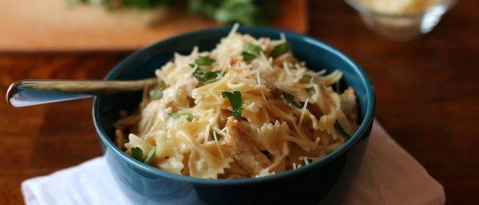 Bowtie Chicken Alfredo | Food - Pasta | Pinterest