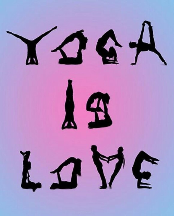 Quotes About Love Yoga : Yoga is love/ I love that my gym offers a variety of classes for my ...