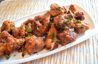 Crispy Curry Leaf Chicken Fry | Ash's Delicacies | Pinterest