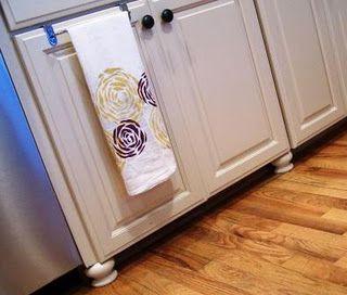 kitchen cabinet legs diy ideas pinterest