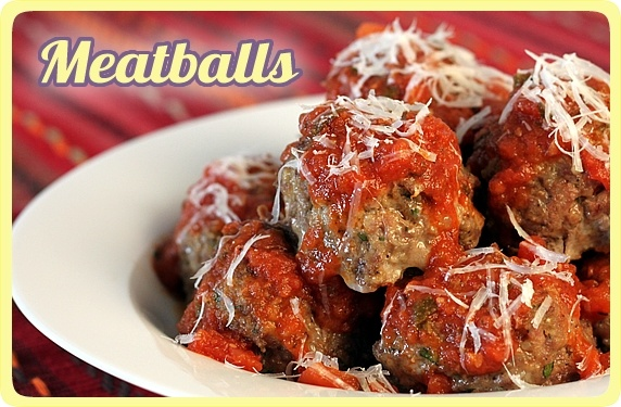 ... for making Classic Italian Meatballs and lots of ideas how to use them