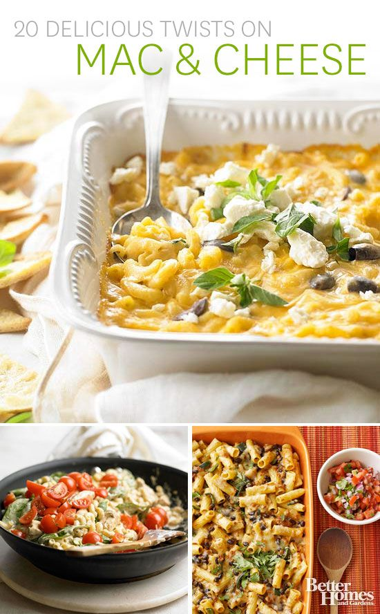Mac and cheese is a family favorite! Try one of our best recipes ...