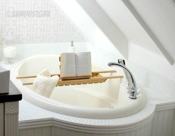 DIY Cedar Bath Caddy Easy | MAKE / BUILD | Pinterest