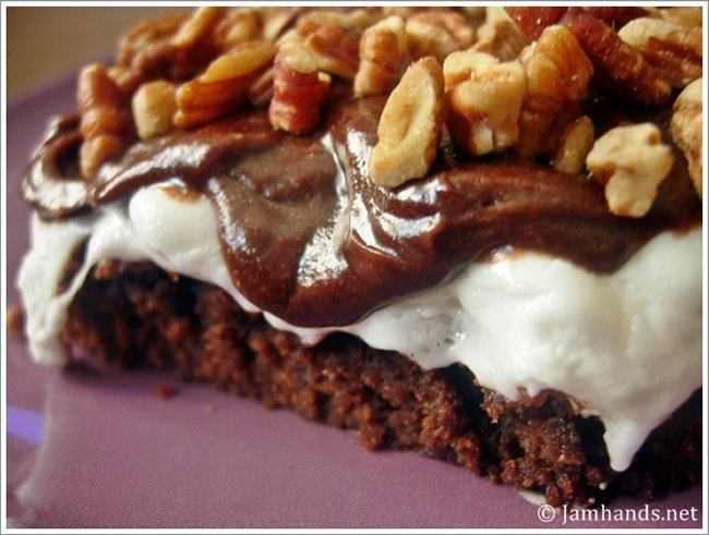 Mississippi Mud Brownies. | Brownie or Cheesecake ... Do I have to ch ...