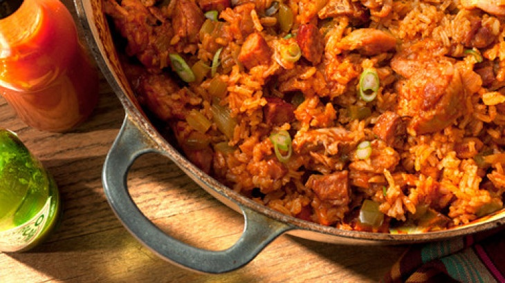 Chicken and Smoked Andouille Jambalaya | Food and Drink | Pinterest