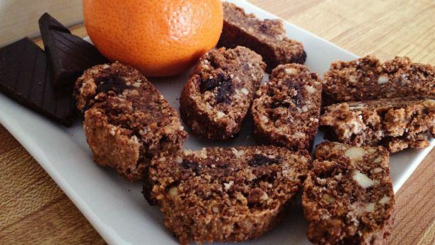 Gluten Free Chocolate Orange Biscotti - A Vegan Blogging Extravaganza ...