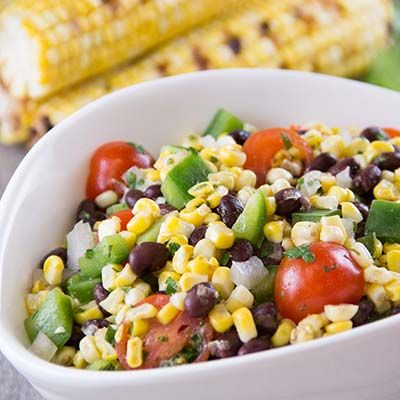 ... grilled corn poblano and black bean salad 9 ways with grilled corn