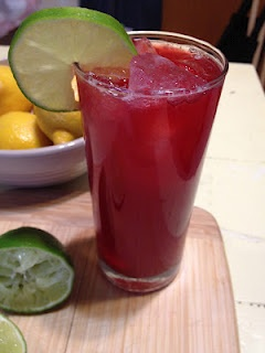 Raspberry Lime Soda | drinks | Pinterest