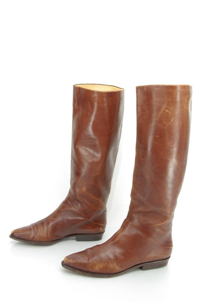 s joan david caramel brown distressed leather