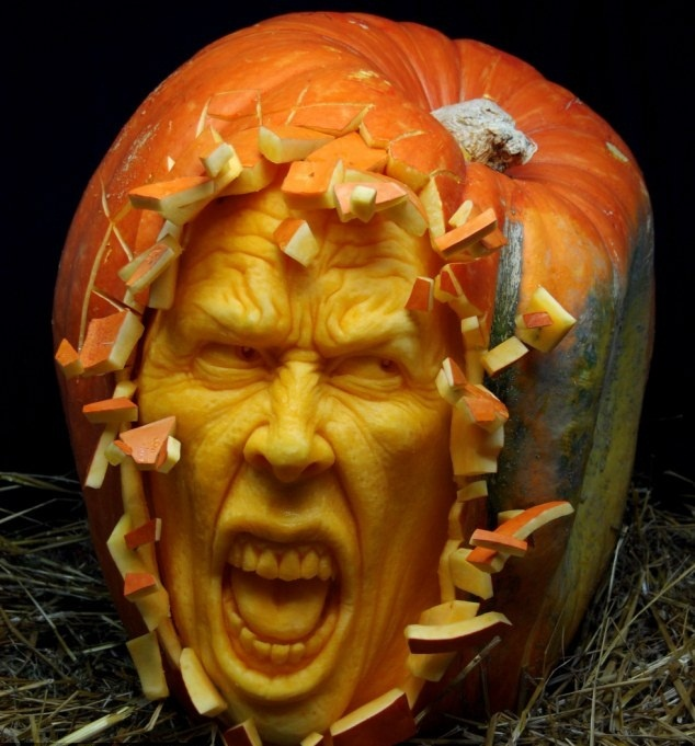 Extreme Pumpkin Carving Just For Fun Pinterest