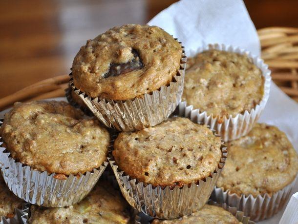 Peach Bran Muffins. Breakfast. | Bake Me! | Pinterest