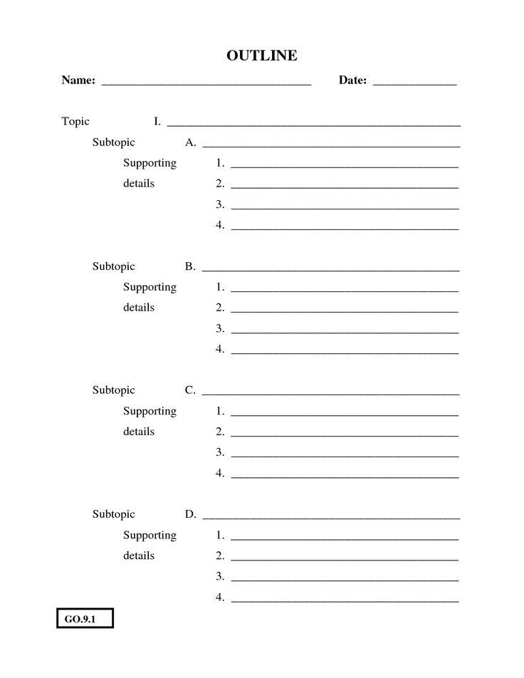 Write my essay template pdf